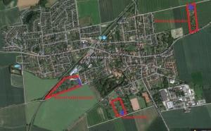 Die drei Kolonien vom Kleingärtnerverein am Deister e.V. Bennigsen